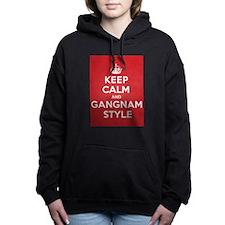 Keep Calm Gangnam Hooded Sweatshirt