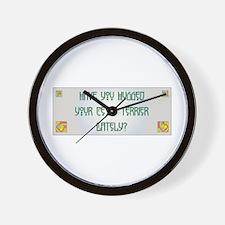 Hugged Cesky Wall Clock