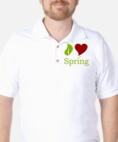 iHeartSpringRed200.jpg T-Shirt