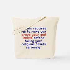 Reason Requires Tote Bag