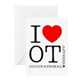 Occupational therapy Greeting Cards (20 Pack)