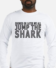 Jump The Shark Long Sleeve T-Shirt