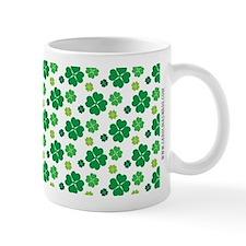 Saint Patricks Day Cute Green Clover Pa Small Mug