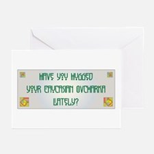 Hugged Caucasian Greeting Cards (Pk of 10)