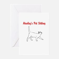 Ainsley's Pet Sitting Greeting Cards