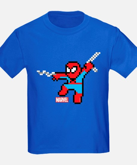 8 Bit Spiderman T