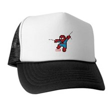 8 Bit Spiderman Trucker Hat