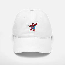8 Bit Spiderman Baseball Baseball Cap
