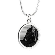 Alexa Nicole Ashton Silver Round Necklace