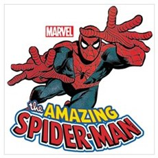 The Amazing Spiderman Wall Art Framed Print