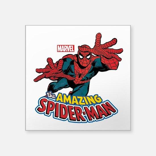 """The Amazing Spiderman Square Sticker 3"""" x 3"""""""