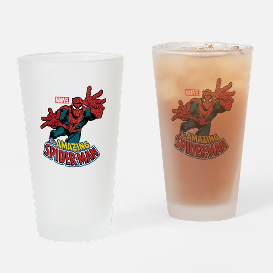 The Amazing Spiderman Drinking Glass