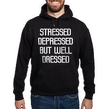 Stressed Depressed Hoodie