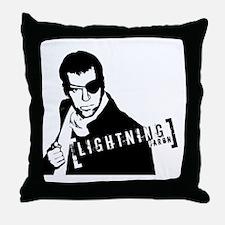 Lightning Baron Throw Pillow