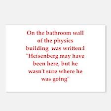 physics joke Postcards (Package of 8)