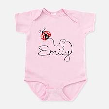 Ladybug Emily Body Suit Infant Bodysuit