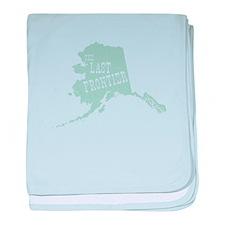 Made In Alaska baby blanket