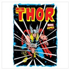 The Mighty Thor Wall Art Poster