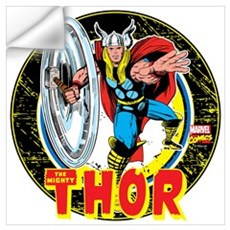 The Mighty Thor Hammer Wall Art Wall Decal