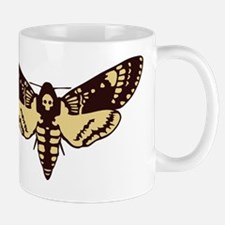 skull butterfly Mug