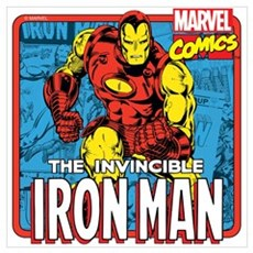 The Invincible Iron Man Wall Art Poster