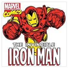 The Invincible Iron Man 2 Wall Art Poster