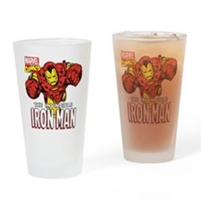The Invincible Iron Man 2 Drinking Glass