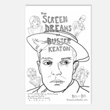 Screen Dreams of Buster K Postcards (Package of 8)