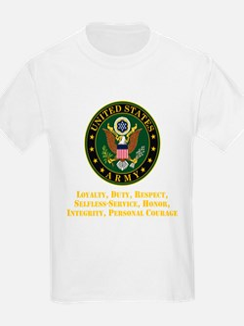 U.S. Army Values T-Shirt