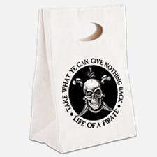 (Pirate) Take What Ye Can Canvas Lunch Tote