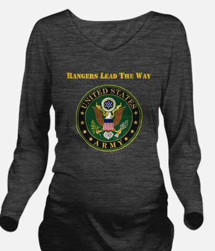 Army Rangers Lead The Way Long Sleeve Maternity T-