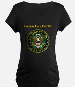 Army Rangers Lead The Way Maternity T-Shirt