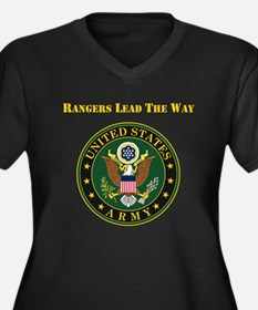 Army Rangers Lead The Way Plus Size T-Shirt