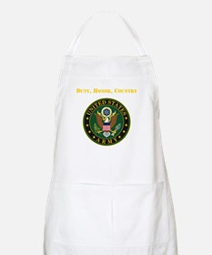Duty Honor Country Army Apron