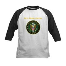 Duty Honor Country Army Baseball Jersey