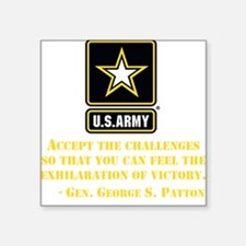 The Exhilaration Of Victory Quote Sticker