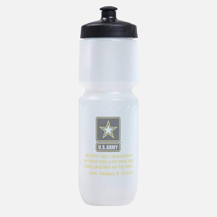 The Exhilaration Of Victory Quote Sports Bottle