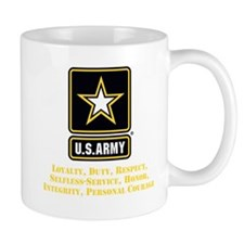 U.S. Army Values Mugs