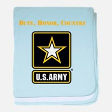 Duty Honor Country Army baby blanket