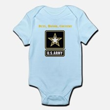 Duty Honor Country Army Body Suit