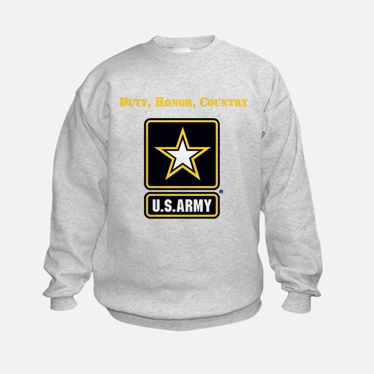 Duty Honor Country Army Sweatshirt
