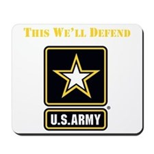This Well Defend Army Mousepad