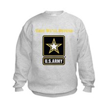 This Well Defend Army Sweatshirt