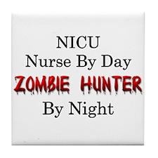 NICU Nurse/Zombie Hunter Tile Coaster