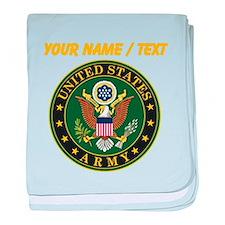 Custom U.S. Army Symbol baby blanket