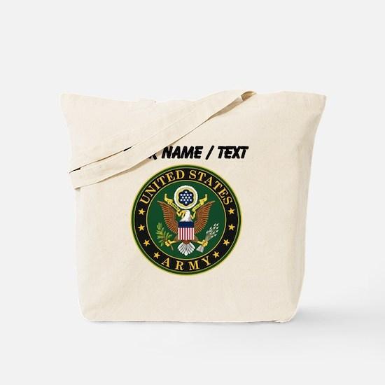 Custom U.S. Army Symbol Tote Bag