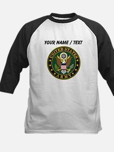 Custom U.S. Army Symbol Baseball Jersey