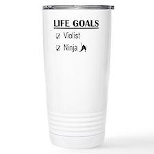 Violist Ninja Life Goal Travel Mug
