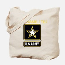 Custom U.S. Army Gold Star Logo Tote Bag