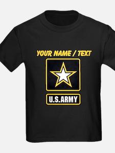 Custom U.S. Army Gold Star Logo T-Shirt